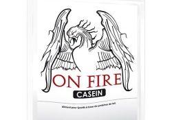 Caséine on fire