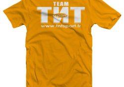 T-Shirt Team TNT SPORT Gris Foncé